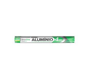 Papel alumínio - 30cmx4m - Bricoflex