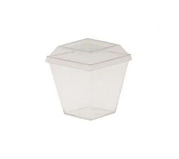 Pote mini sobremesa 50ml pacote com 10 unidades - PW-46 - Wer