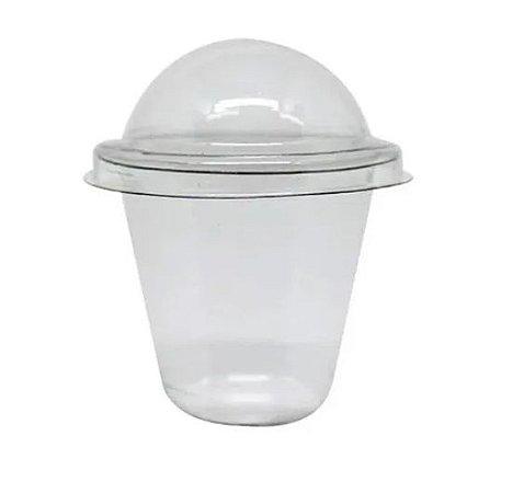 Mini copo bolha para doce transparente pacote com 24 unidades- 25ml - FLIP