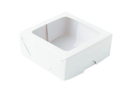 Caixa com visor s11 branca 09x09x04 - pacote com 10 - ASSK