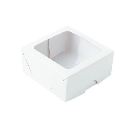 Caixa com visor S16 branca pacote com 10 - (07X07X03) - ASSK