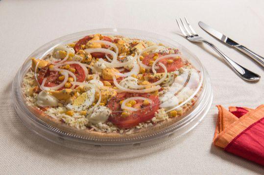 Bandeja pizza ideal cristal pacote com 10 unidades - G60 - Galvanotek
