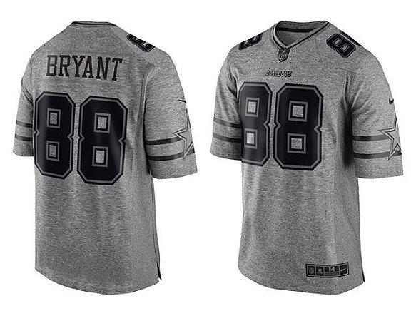 Jersey - 88 Dez Bryant - Gridiron Grey - Dallas Cowboys