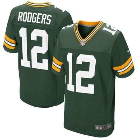 Jersey - 12 Aaron Rodgers - Green Bay Packers - MASCULINA