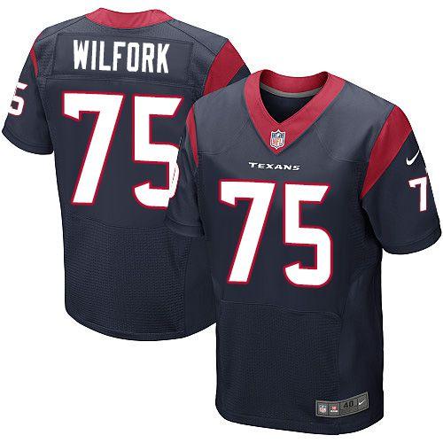 Jersey - 75 Vince Wilfork - Houston Texas - MASCULINA