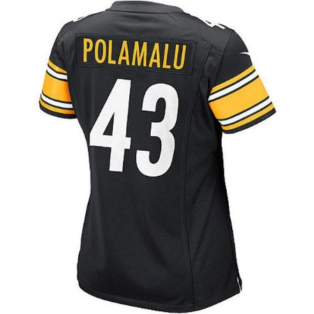 Jersey - 43 Troy Polamalu - Pittsburgh Steelers - FEMININA