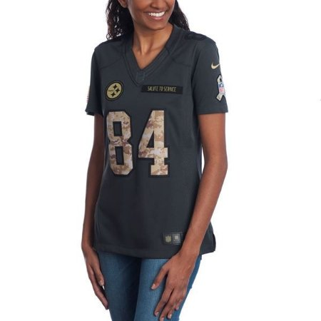 Jersey - 84 Antonio Brown - Salute to Service  - Pittsburgh Steelers - FEMININA