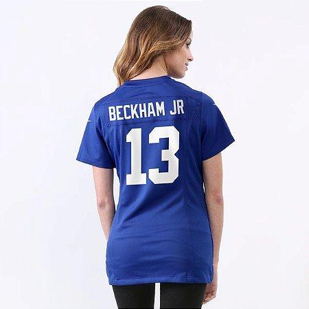 Jersey - 13 Odell Beckham Jr - New York Giants - FEMININA