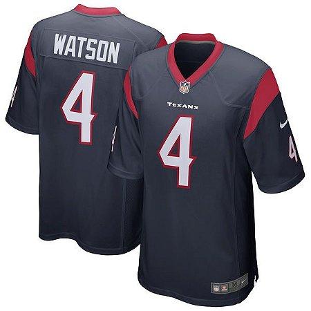 Jersey - 4 Deshaun Watson - Houston Texas - MASCULINA