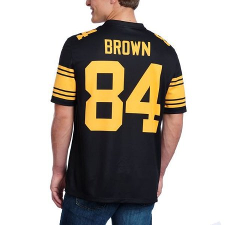 Jersey - 84 Antonio Brown - Color Rush -  Pittsburgh Steelers
