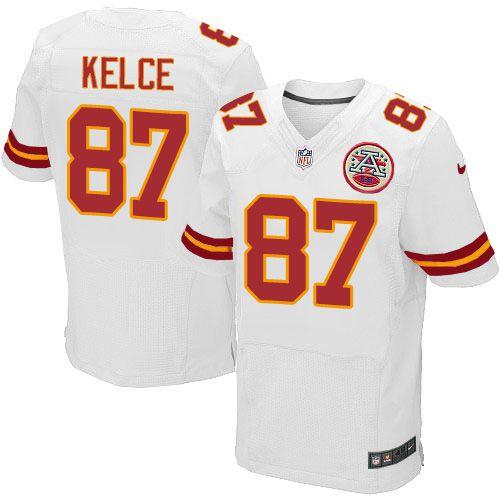 Jersey - 87 Travis Kelce - Kansas City Chiefs - MASCULINA