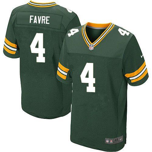 Jersey - 4 Brett Favre - Green Bay Packers - MASCULINA