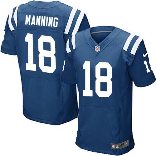 Jersey - 18 Peyton Manning -  Indianapolis Colts - MASCULINA