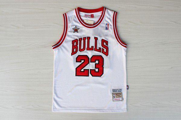 Jersey Mitchell and Ness - 23 Michael Jordan - Chicago Bulls Nike - MASCULINA