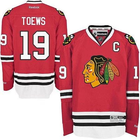 Jersey - 19 Jonathan Toews - Chicago black hawks