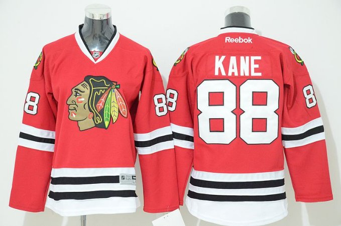 Jersey - 88 Kane - Chicago black hawks