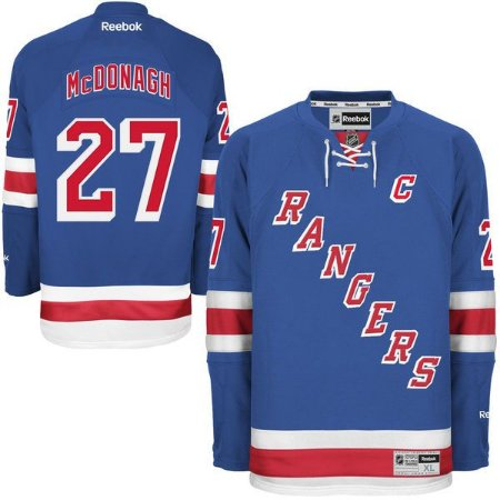 Jersey  - 27 Ryan McDonagh New - York Rangers