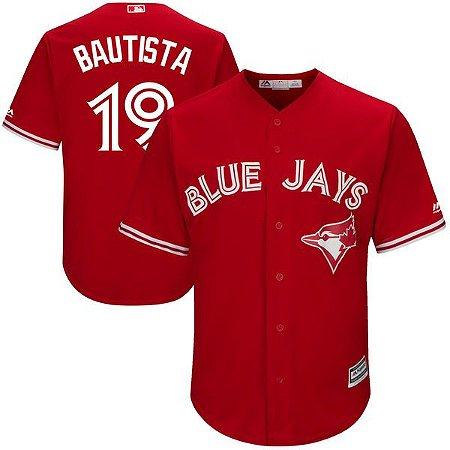 Jersey - 19 Bautista - Toronto Blue Jays - MASCULINA