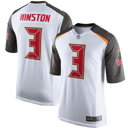 Jersey - 3 Jameis Winston - Tampa Bay Buccaneers - MASCULINA