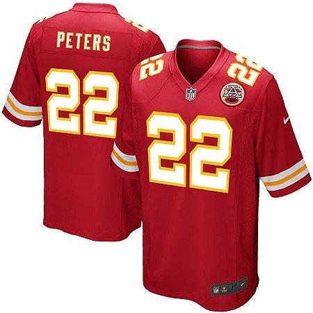 Jersey - 22 Marcus Peters - Kansas City Chiefs - MASCULINA