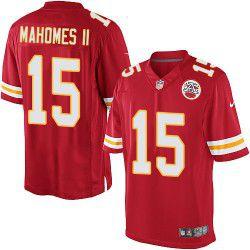Jersey - 15 Patrick Mahomes - Kansas City Chiefs