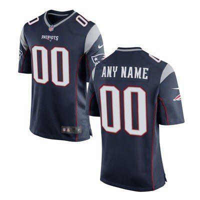 Jersey- New England Patriots - COM PERSONALIZAÇÃO DE NOME E NÚMERO