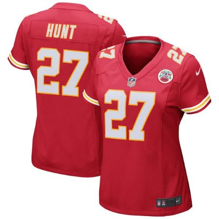 Jersey - 27 Kareem Hunt - Kansas City Chiefs - FEMININA