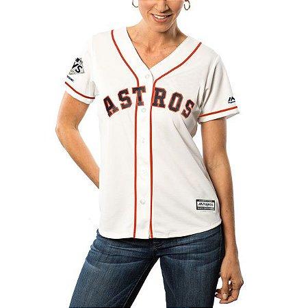Jersey - 27 Jose Altuve - Houston Astros - FEMININA