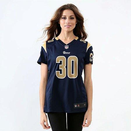 Jersey - 30 Todd Gurley - Los Angeles Rams - FEMININA