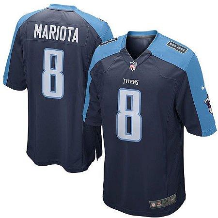 Jersey - 8 Marcus Mariota - Tennessee Titans
