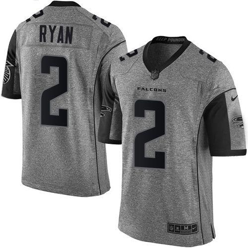 Jersey - 2 Matt Ryan  - Atlanta Falcons - Gridiron Grey