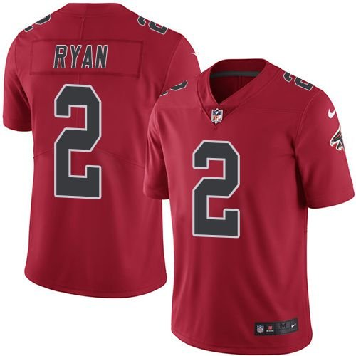 Jersey - 2 Matt Ryan  - Atlanta Falcons - Color Rush
