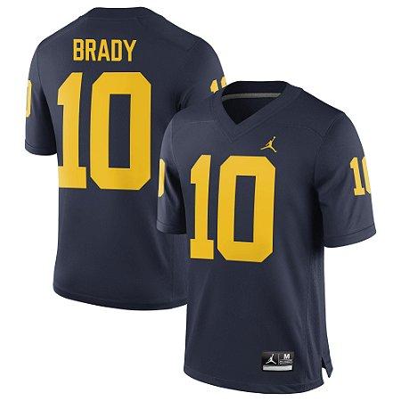 Jersey - 12 Tom Brady - Michigan Wolverines - NCAA