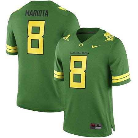 Jersey - 8 Marcus Mariota - Oregon Ducks - NCAA