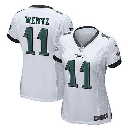 Jersey - 11 Carson Wentz - Philadelphia Eagles - Feminina
