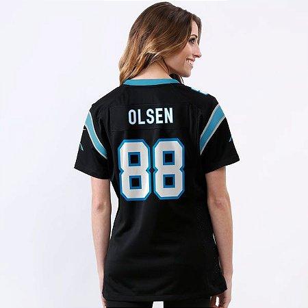 Jersey - 88 Greg Olsen - Carolina Panthers  - FEMININA