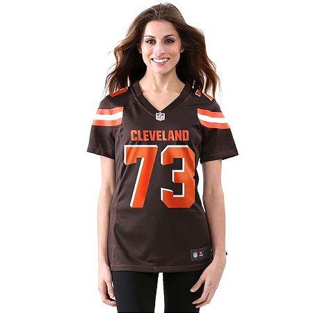 Jersey - 73 Joe Thomas - Cleveland Browns - Feminina