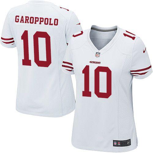 Camisa - 10 Jimmy Garoppolo - San Francisco 49ers - FEMININA