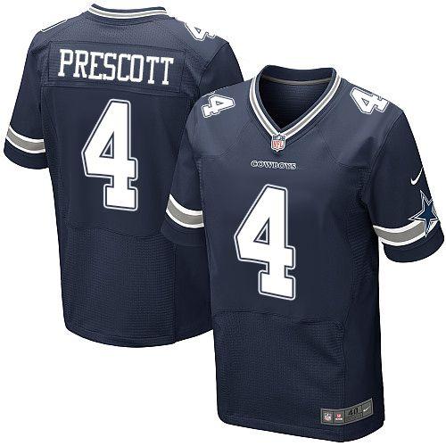 Camisa - 4 Dak Prescott - Dallas Cowboys