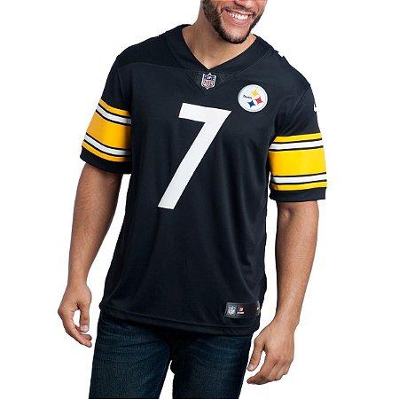 Camisa - 7 Ben Roethlisberger - Pittsburgh Steelers