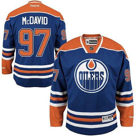 Camisa - 97 Connor McDavid - Edmonton Oilers
