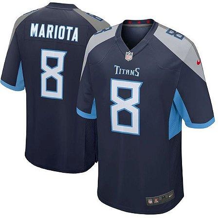 Camisa - 8 Marcus Mariota - Tennessee Titans