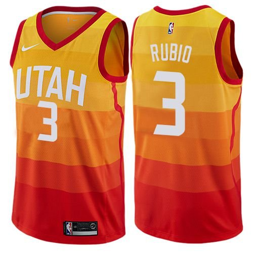 Jersey 3 Ricky Rubio - Utah Jazz City Edition