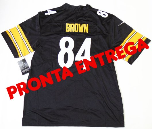 Camisa Pittsburgh Steelers  - 84 Antonio Brown- PRONTA ENTREGA
