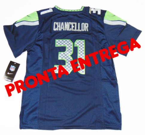 Camisa seattle seahawks  - 31 Kam Chancellor - FEMININA - PRONTA ENTREGA