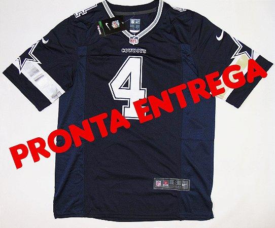 Camisa Dallas Cowboys - 4 Dak Prescott - PRONTA ENTREGA