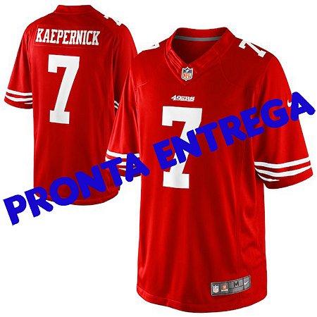 Camisa San Francisco 49ers - 7 Colin Kaepernick - PRONTA ENTREGA
