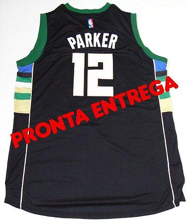 Camisa Milwaukee Bucks - 12 Jabari Parker - PRONTA ENTREGA