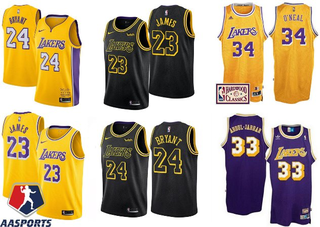 Camisa los Angeles lakers - 23 LeBron James - 24 kobe bryant - 32 Magic  Johnson 1c9b9a49dad8b