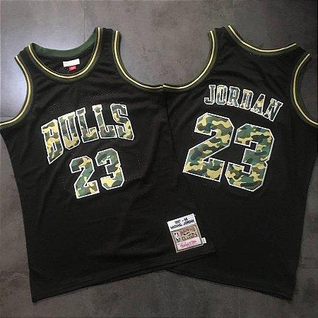 Jersey - 23 Michael Jordan - Chicago Bulls -  Mitchell & Ness